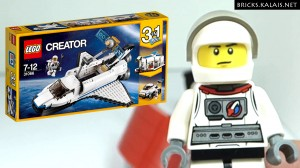LEGO 31066 Space Shuttle Explorer Back to school
